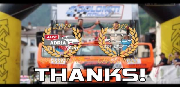 Promo-Video – Zanon 2019 (Alpe Adria Cup & Coppa Rally di Zona)